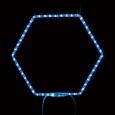 ヘキサゴン03 ブルー