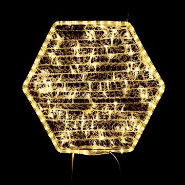ヘキサゴン04 ゴールド
