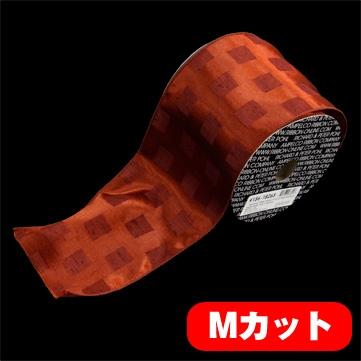 スクエアポイント レッド 巾12.5cm Mカット