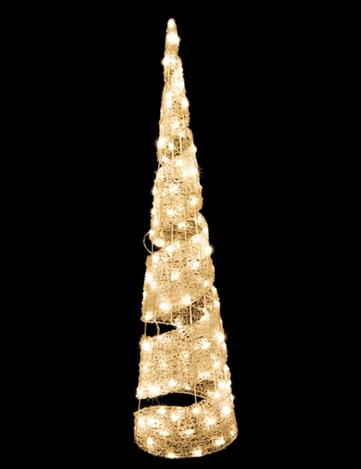 スパイラルツリーⅡ 240 ウォームホワイト
