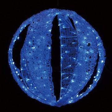 ストライプボール80 ブルー
