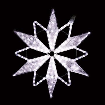 クリスタルスノーフレーク ホワイト