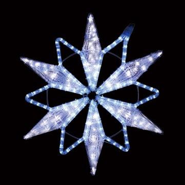 クリスタルスノーフレーク ブルー