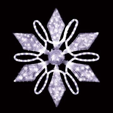 フローラルスノーフレーク ホワイト