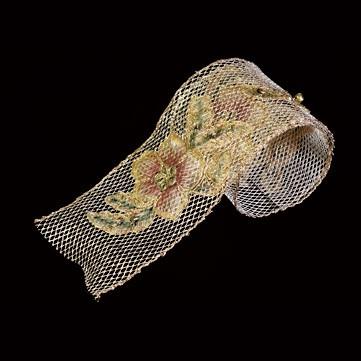 フラワーベル ゴールド 巾10cm 4.5M巻