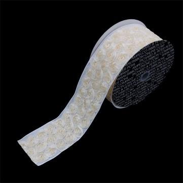 マウントローズ アイボリー 巾10cm 4.5M巻