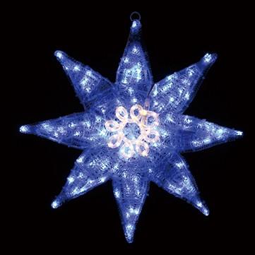 グローポインセチア ブルー