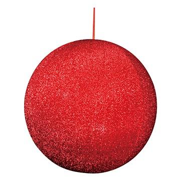 ハンギングシャギーボール60 レッド
