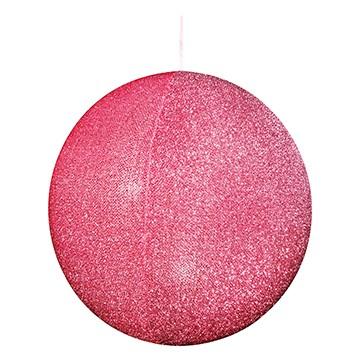 ハンギングシャギーボール80 ピンク