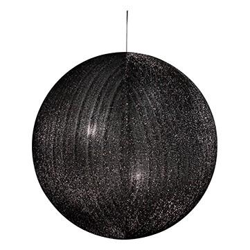 ハンギングシャギーボール80 ブラック