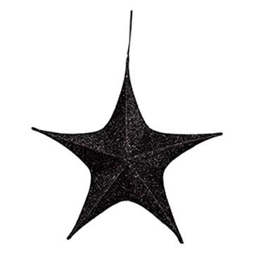 ハンギングシャギースター65 ブラック
