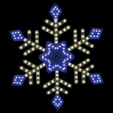 SMDスノーダイヤ ホワイトブルー