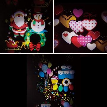 ロータリープロジェクションライト用カラーイメージフィルム(6枚入り)