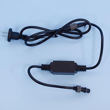 電源コードT ブラック