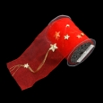 スターチェーン レッド 巾12.5cm 10M巻