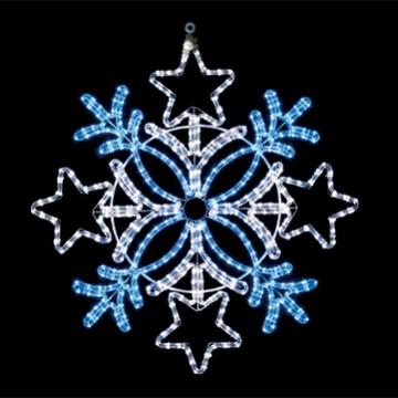 スノーフレークY21 ホワイトブルー