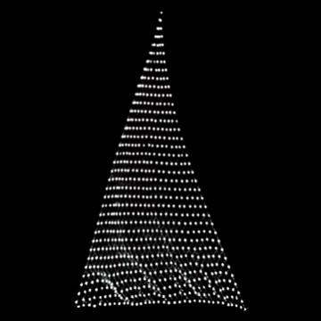 スリーポイントネットライト  ホワイト(クリアコード)