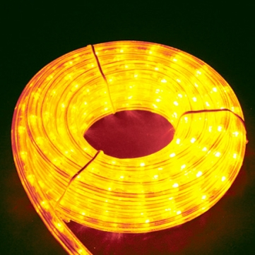 11mmφロープライト(ビッグロール) アンバー 32m