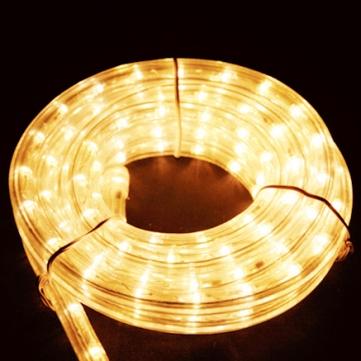 11mmφロープライト(ミディアムロール) ゴールド 5m