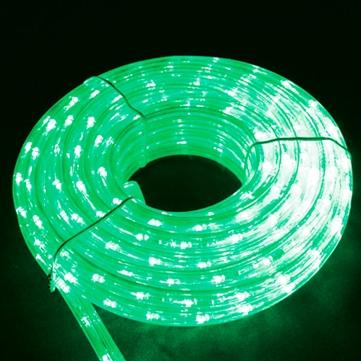 13mmφロープライト(ミディアムロール) グリーン 10m