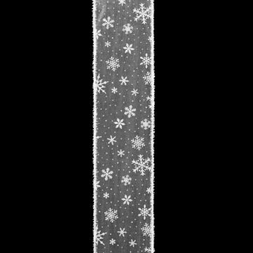 スノーフレーク ホワイト/ホワイト 巾10cm 18M巻