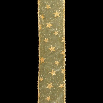 ラメスター ゴールド 巾7.5cm 9M巻