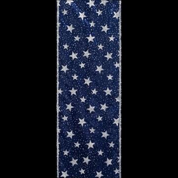 ラメスター ブルー 巾15cm 9M巻