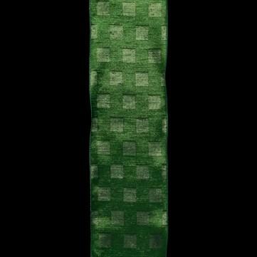 スクエアポイント グリーン 巾12.5cm 9M巻
