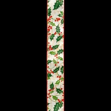 ホリーピック アイボリー 巾6cm 9M巻