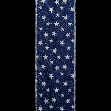 ラメスター ブルー 巾15cm 18M巻