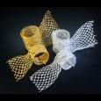 シャインメッシュ シルバー 巾6~15cm 9M巻