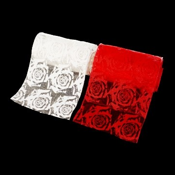 シースルーローズ レッド 巾15cm 9M巻