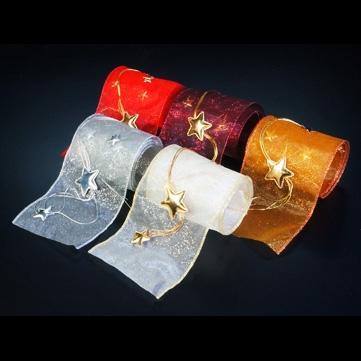 スターチェーン アンバー 巾12.5cm 10M巻