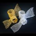 シャインメッシュ シルバー 巾6~15cm 18M巻